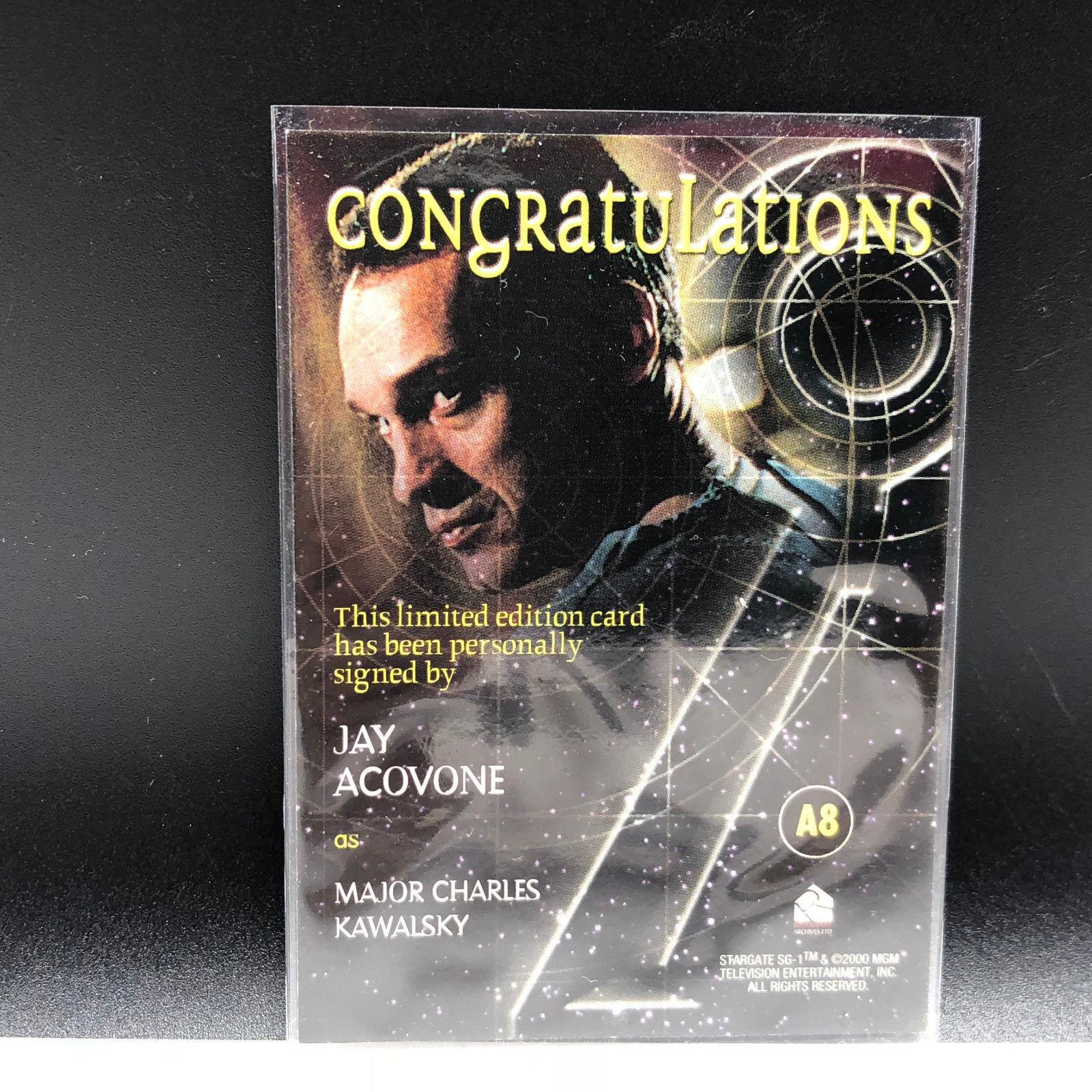 Chris Judge as Teal/'c on Stargate SG-1 Autograph #9