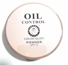 Colors Queen 2 IN 1 Oil Control SPF 15 Compact Powder - $18.50