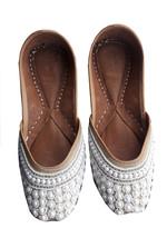 punjabi jutti mojari khussa shoes,wedding shoes,indian shoes,sandal shoes USA-7 - $29.99