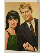 FP14 Troy Donahue Stephanie Powers 1964 Cont Chrome Postcard Not Posted EX-NM - $2.90