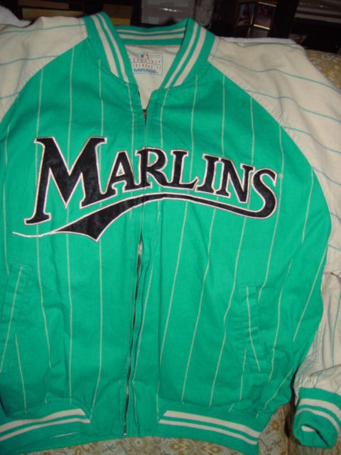62a250c626d VINTAGE Florida Marlins 1997 World Series Champions Jacket Size X-Large