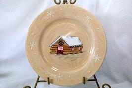 Home 2002 Northwoods Lodge Cabin Salad Plate - $5.54