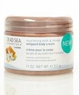 Dead Sea Essentials by Ahava Milk & Honey Whipped Body Cream 11 oz - Bra... - $12.86