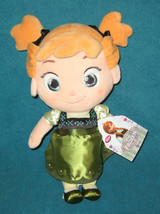 Authentic Disney Store Frozen Anna Doll Soft Plush. Brand New. 12 inches... - $19.79