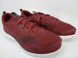 Saucony Liteform Feel Sz 9 M (D) EU 42.5 Men's Running Shoes Burgundy S4... - €35,70 EUR