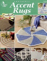 Accent Rugs 6 Designs Crochenit PATTERN/INSTRUCTIONS Booklet - $2.67
