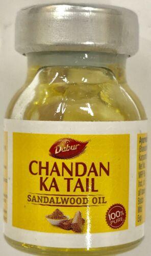 Chandan Ka Tail Sandalwood Oil Pure 100% Organic 5ml