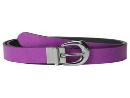 Lauren Ralph Lauren 1 Saffiano to Smooth Reversible Belt - $26.95