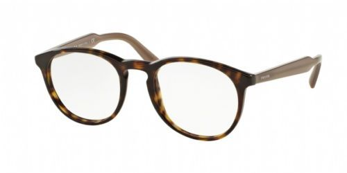 55c306ca2ad 12. 12. Previous. Authentic Prada Eyeglasses VPR19S 2AU-1O1 Havana Round  Frames 50mm RX-Able · Authentic Prada ...