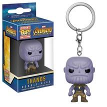 Avengers Infinity War Thanos Funko Pocket Pop Keychain Figure Purple - $10.98