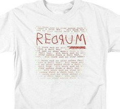 The Shining RedRum t-shirt retro 80's horror movie graphic tee WBM563 image 2