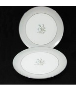 "Noritake China Theme Dinner Plates (2) 10-1/2"" ... - $18.00"