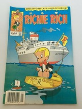 Richie Rich Last Issue of Series Harvey Comics Book January 1991 No. 254... - $29.99