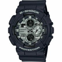 Casio G-Shock GA-140GM-1A1 Analog-Digital Gunmetal Dial Black Strap Men's Watch image 1