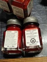2 Testors Paint Glossy Dark Red Rouge Force Enamel 1/4oz Model TES1104 New - $7.92