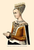 Margaret, Queen of James 3rd of Scotland by H. Shaw - Art Print - $19.99+