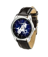Capricorn constellation zodiac Wristwatch Men Women watch Christmas Cool... - $39.99