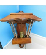 (2) Mid Century Danish Modern Wood Wall Sconce Lamp Lights  - $222.75