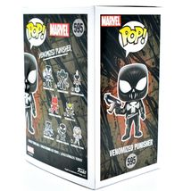 Funko Pop! Marvel Venom Venomized Punisher #595 Bobble-Head Vinyl Action Figure image 4
