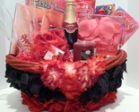 Valentine's Day, Birthday, Wedding Gift Basket For A Romantic Evening Of Love