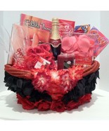 Valentine's Day, Birthday, Wedding Gift Basket For A Romantic Evening Of Love - £74.10 GBP