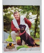 KARE 11 Ron Schara's Black Lab Raven 8x10 autographed signed photo ADAM ... - $14.85