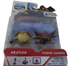 New 2014 Hero Portal Dreamworks Dragons Meatlug And Cloud Jumper Jakks P... - $11.87