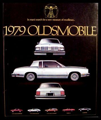1979 Oldsmobile Sales Brochure, Cutlass Omega Starfire