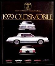 1979 Oldsmobile Sales Brochure, Cutlass Omega Starfire - $7.70