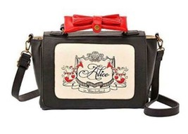 Disney Store Alice in Wonderland 2WAY Ribbon Shoulder Bag Handbag Tote B... - $92.07