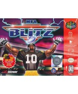 NFL Blitz N64 Great Condition Fast Shipping - $29.93