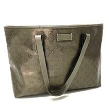 AUTHENTIC GUCCI GG Imprime Shoulder Bag Tote Bag Bronze - $450.00