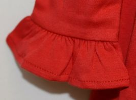 Blanks Boutique Long Sleeve Empire Waist White Ruffle Dress Size 5T image 4