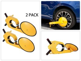 Wheel Lock Clamp Boot Tire Claw Heavy-duty Anti Theft Parking Boot Mopho... - $122.98