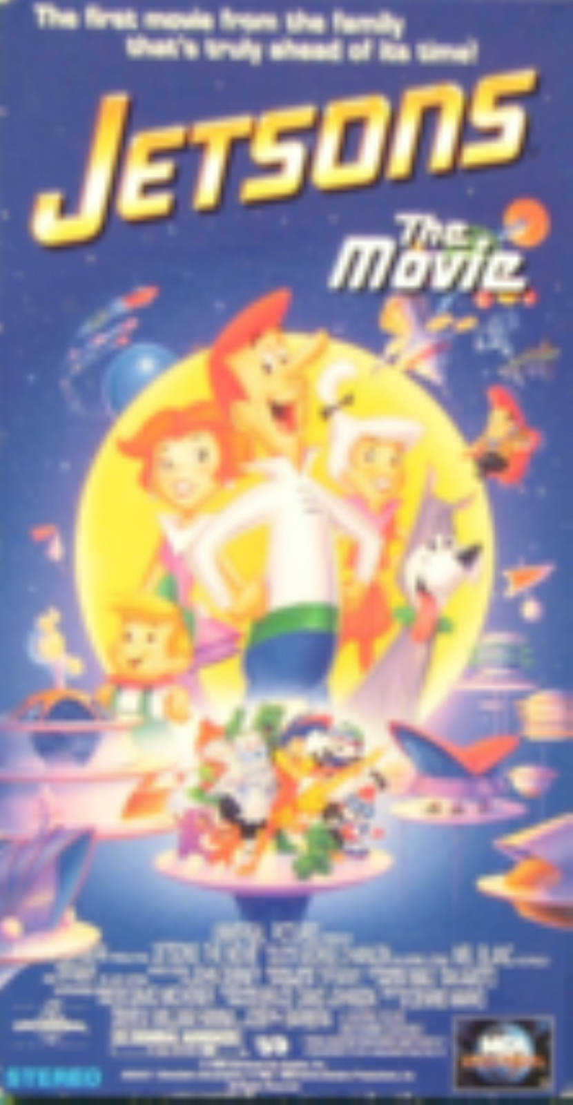 The Jetsons - The Movie Vhs