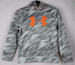 Under Armour youth kids storm hoodie pullover loose gray size YMD/JM/M - $18.10