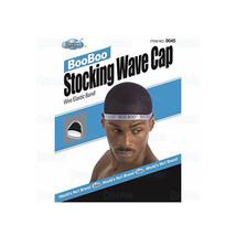 Dream Boo Boo Stocking Wave Cap Wire Elastic Band Stretch Du Rag Men Doo... - $5.95