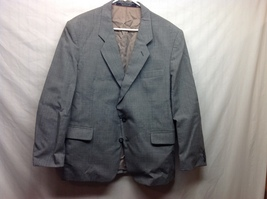 Yorkshire & Hill Men's Gray Fully Lined Blazer Sz 42 Short