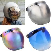 Unisex Motorcycle Motorbike Helmet Lens Goggles Wind Bubble Shield Mirro... - $20.99
