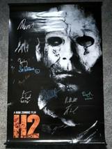 Halloween 9x Cast Signed Poster COA Rob Zombie, Bill Moseley, Tyler Mane - $250.00