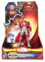 Superman Man of Steel Power Attack Deluxe Figure - Stoplight Superman - ... - $22.12
