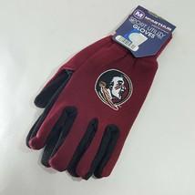 Florida Seminoles Sport Utility Gloves Men's One Size Multicolor Polyester - $8.41