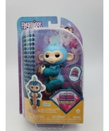 WowWee Fingerlings Monkeys - Fingerblings - Glam Turquoise/Blue - Friendly In... - $12.86