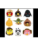 "All 9 Various Angry Birds Star Wars 8"" Plush Soft Toy Collectible - Bran... - $37.22"