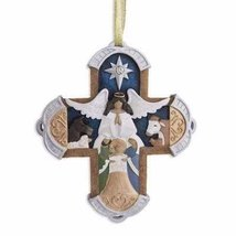 Enesco Legacy of Love Carved Cross Ornament, 4-Inch - $7.30