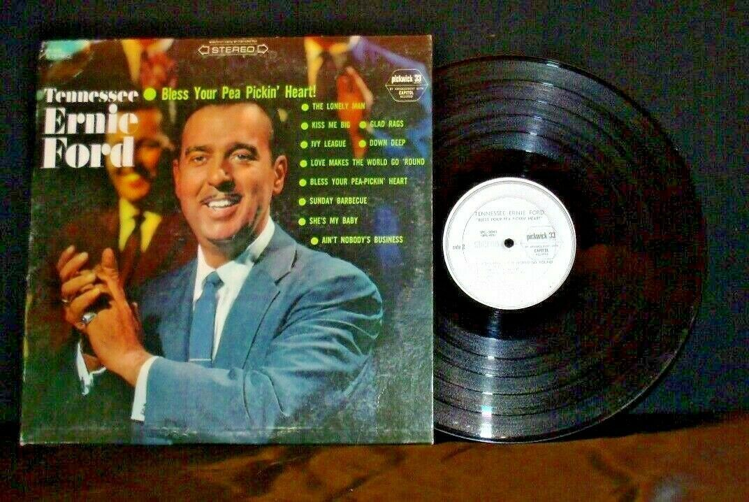 Tennessee Ernie Ford – Bless Your Pea Pickin' Heart! AA20-2074 Vintage