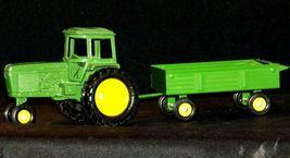 Ertl John Deere replica die-cast tractor with wagon AA19-1639 Vintage image 6