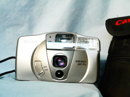 Canon Sure Shot AF-7S Point And Shoot 35mm Compact Camera Cased -TESTED- - $35.00