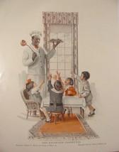 1915 Cream of Wheat Rastus Edward V. Brewer Reception Committee Children Ad - $9.99