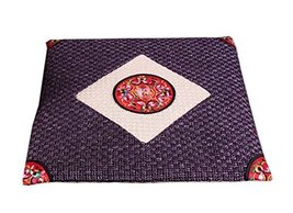 PANDA SUPERSTORE Chinese National Style Cotton Square Seasons Car Seat Cushions,